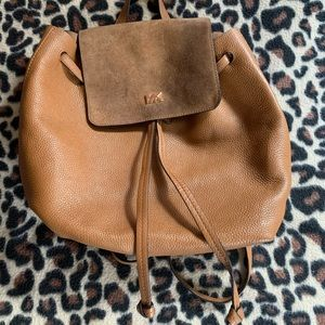 Michael Kor's Pebbled Leather Backpack Purse